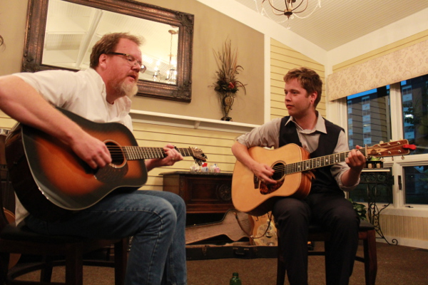 Will Kimble and Billy Strings by Eric Crump