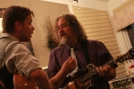 Billy Strings and Don Julin by Eric Crump